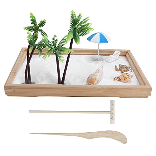 GAESHOW Ozean Sandkasten Dekoration Desktop Sandkasten Ornament Micro...