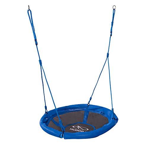 HUDORA 72126/01 Nestschaukel 90 cm, blau - Garten-Schaukel bis 100 kg...