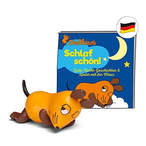 tonies Hörfiguren für Toniebox: Maus Schlaf Schön Figur mit 16 Gute...