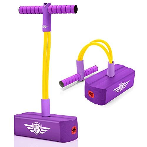 Kimy Spielzeug für Mädchen Jungen 4 5 6 7 8 9 Jahre, Pogostick für Kinder Geschenke für Junge 3-12 Jahre...