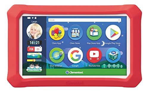 Clementoni-16620-Il Mio Primo Clempad 9 Plus Kinder-Tablet, Mehrfarbig, 16620