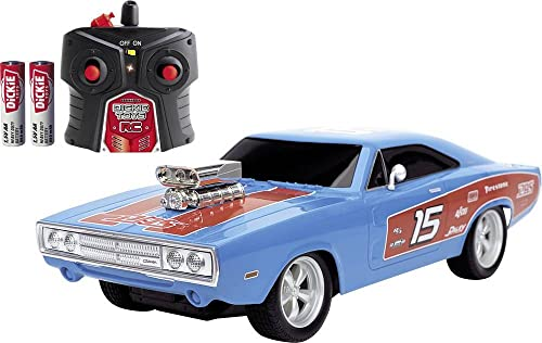 Dickie Toys 251106010 RC Dodge Charger 1970 1:16, blau