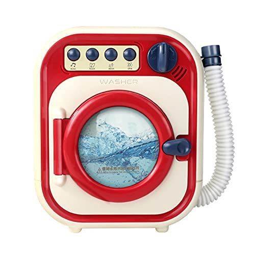 T TOOYFUL Kinderwaschmaschine So Tun, Als Ob Sie Elektrische...