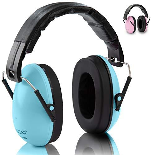 NENI Kinder Gehörschutz in Blau oder Pink - Premium...