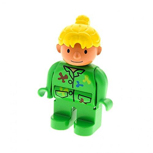 1 x Bob der Baumeister Figur Wendy grün Maleranzug Lego Duplo 4555...