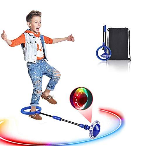 Swing Wheel mit Lichtrad, Kinder Blinkender Springring...