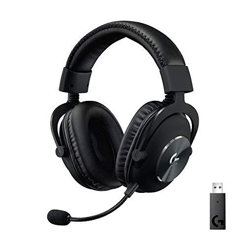 Logitech G PRO X kabelloses LIGHTSPEED Gaming-Headset, Blue VO!CE...