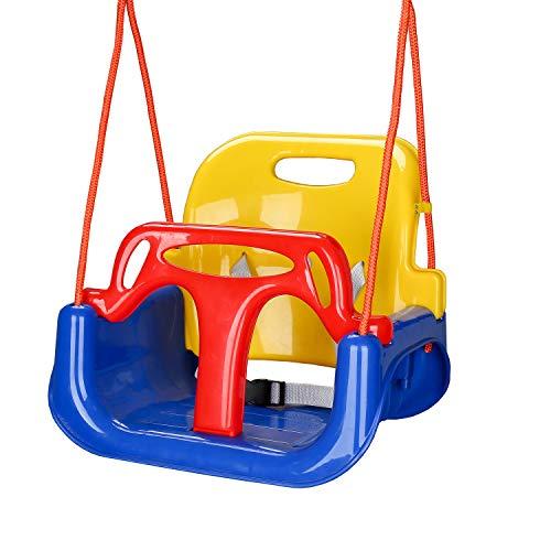 wolketon Kinderschaukel Babyschaukel Garten Swing, Spielzeug Schaukel...