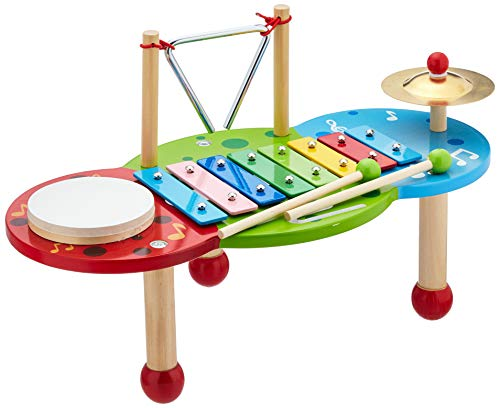 "small foot 2418 Xylophon ""Deluxe"" aus Holz, mit 8-Ton-Xylophon,..."