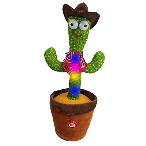 WUMOFIF Tanzendes Kaktus-Spielzeug Singender Und Tanzender...