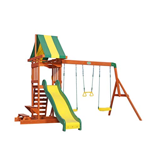 Backyard Discovery Spielturm Holz Sunnydale   Spielplatz für Kinder...