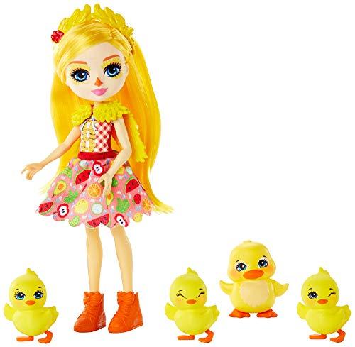 Enchantimals GJX45 - Familien Spielset, Dinah Duck Puppe mit Slosh und...