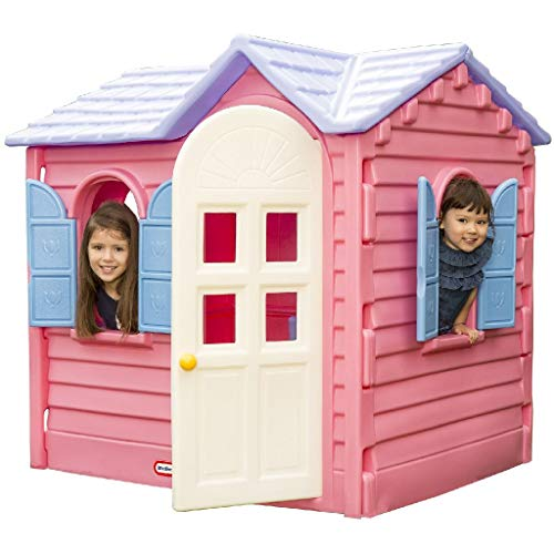 Little Tikes Country Cottage - Outdoor Spielset, Spielhaus - Inklusive...