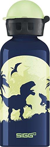 SIGG Glow Moon Dinos Kinder Trinkflasche (0.4 L), schadstofffreie...