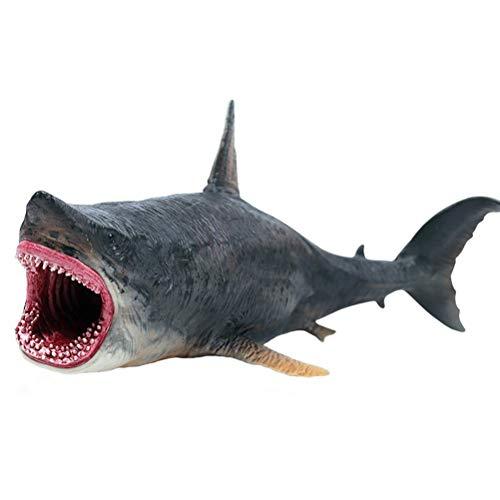 FLORMOON Tierfiguren Spielzeuge Megalodon Wal-Figur Realistisch...