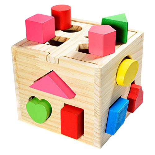 all Kids United® Steckwürfel aus Holz-Würfel...