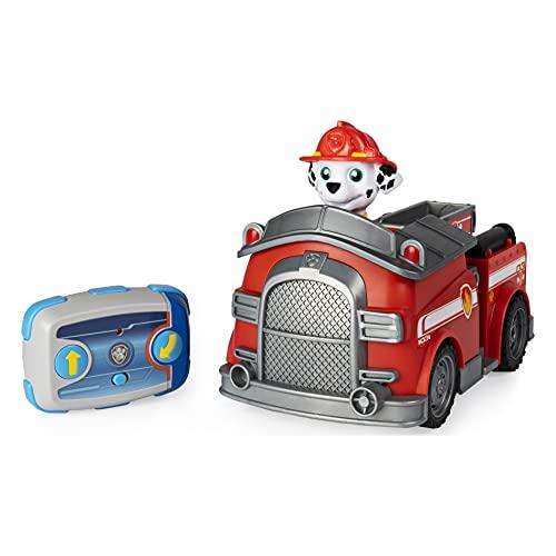 PAW Patrol Ferngesteuertes Feuerwehrauto mit Marshall - Figur, RC...