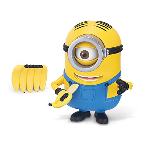 The Minions Deluxe Action Figure [Banana Munching...