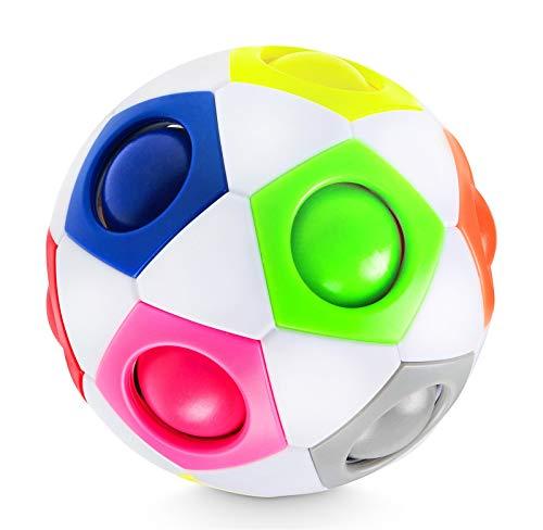 Lucky Humans® -Premium Regenbogenball- Geschicklichkeits-Spiel für...