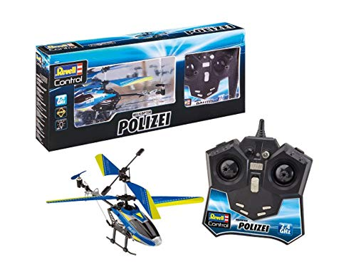 Revell Control 23827 RC Helicopter im modernen Polizei-Design...