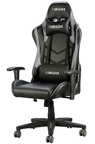 Hbada Gaming Stuhl Racing Stuhl Bürostuhl Chefsessel...