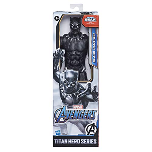 Marvel Avengers Titan Hero Serie Black Panther, 30 cm...
