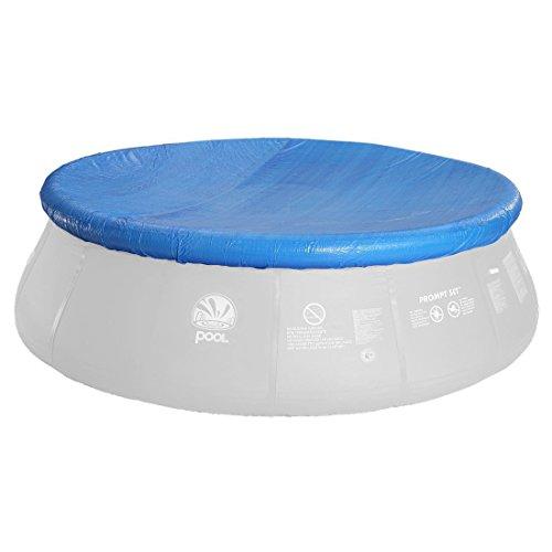 Jilong Avenli Pool-Abdeckung rund Abdeckplane für Quick-Up Pool 240cm...