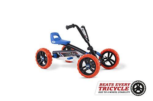 Berg Pedal Gokart Buzzy Nitro | Kinderfahrzeug, Tretauto, Sicherheid und Stabilität, Kinderspielzeug geeignet...