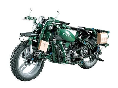 CaDA Motorisiertes Technik WWII Motorrad, ArtikelNr....