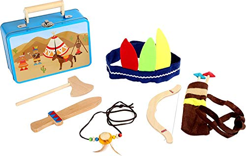 small foot 3922 Kinderkoffer Indianer-Set, mit Axt,...