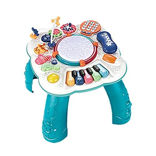 WSTERAO Babyspielzeug Musikalischer Lerntisch Lernen und Grooven...
