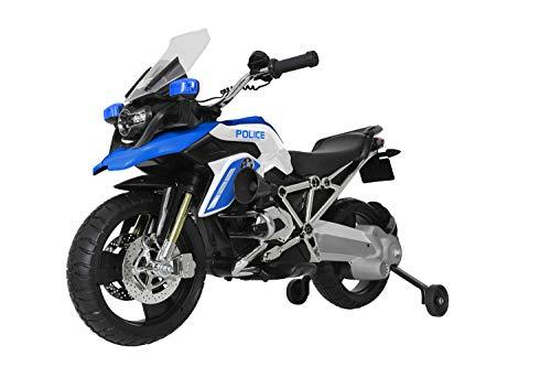 Rollplay BMW R1200 GS-Look Motorrad in Polizei-Design (Elektrofahrzeug... *