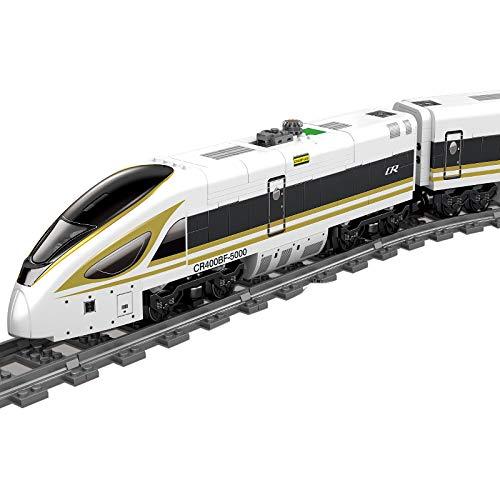IIKA Adventskalender Zug Track Set DIY Baustein Modelleisenbahn Fuxing...