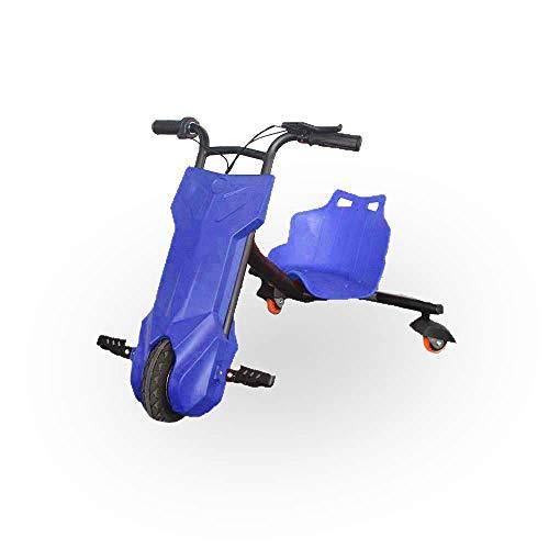BEEPER- Drift-Trike Elektrisches Kart für Kinder, Blau, 100 W, 12 V,...