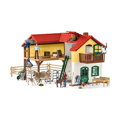 Schleich 42407 Farm World Spielset - Bauernhaus mit...
