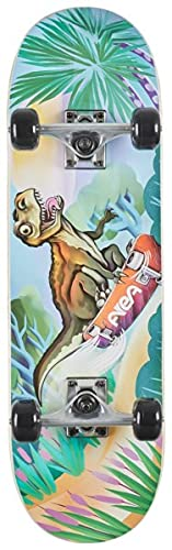 AREA Komplett Skateboard für Kinder 28' Zoll - ab 5 Jahre mit...