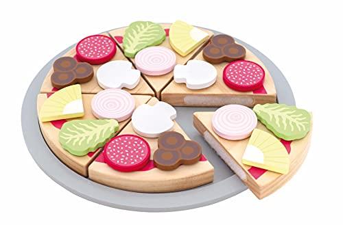 _JaBaDaBaDo_ Pizza Holzpizza Kinderspielzeug Holz Essen...