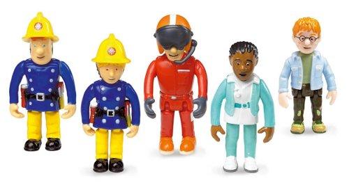 Born to Play FS022 - Born to Play - Feuerwehrman Sam - Set mit 5 beweglichen Figuren