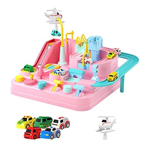 Baitang Track Cars Spielzeug, Auto Abenteuer Spielzeug, Rennstrecke...