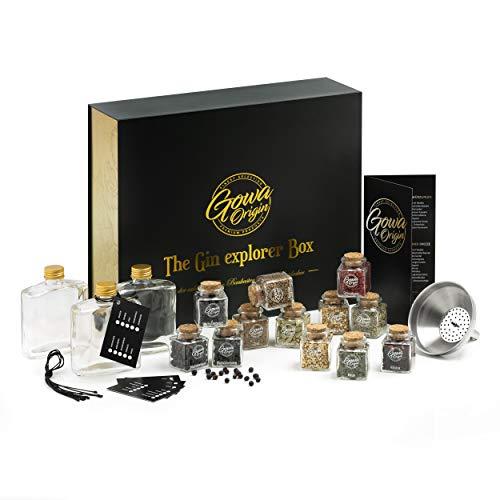 GOWA ORIGIN Exklusives DIY Gin Set + 140-seitige Gin Bibel [E-Book] |...
