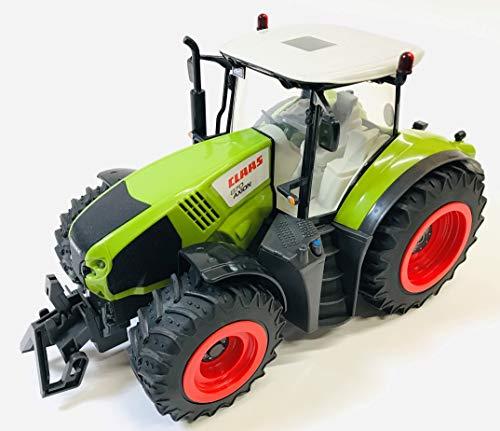BUSDUGA RC Ferngesteuerter Traktor CLAAS 870 Axion 1:16 - passend zu den Bruder Anhänger, inkl. Batterien -...