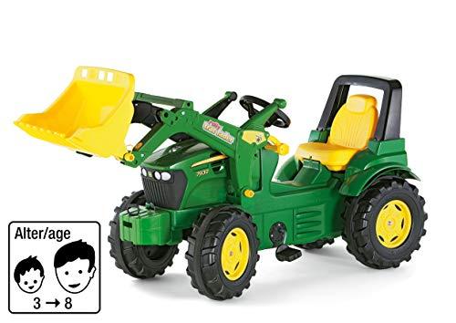 Rolly Toys 710027 - rollyFarmtrac John Deere 7930 Tretfahrzeug (für Kinder ab drei Jahre, Flüsterlaufreifen,...