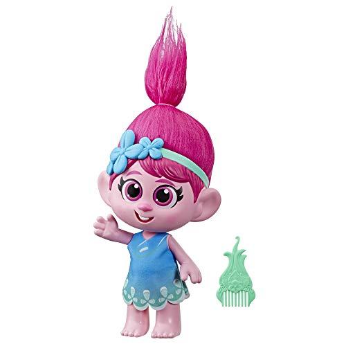 DreamWorks Trolls World Tour Kleinkind Poppy Puppe mit abnehmbarem...