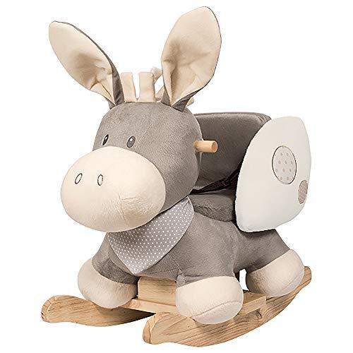 Nattou Schaukeltier Esel Cappuccino, 10 - 36 Monate, 60 x 39 x 50 cm,... *