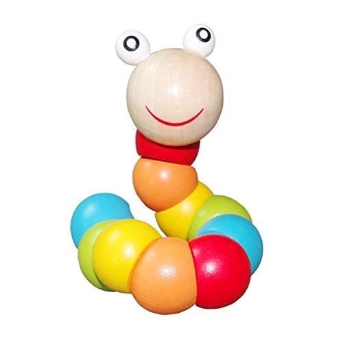 PAMRAY Twist Wurm Spielzeug Kleinkinder Baby Verwandeln...