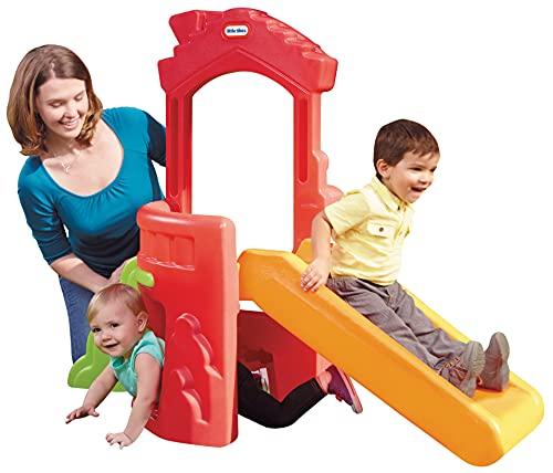 Little Tikes Climb 'n Slide Spielhaus - Indoor & Outdoor Spielset -...
