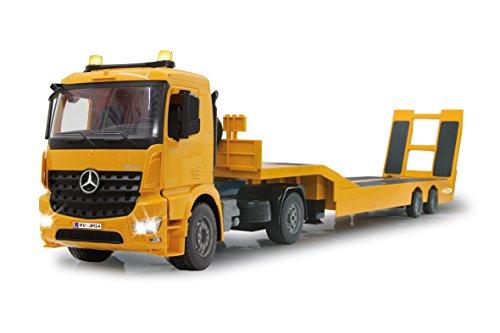 Jamara 405107 - Tieflader Mercedes Arocs 1:20 2,4GHz – An- und Abkoppeln Tieflader, Tiefladerabstützung +...