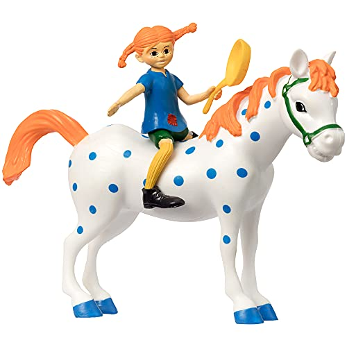 Micki & Friends 44379500 Pippi Langstrumpf Spielfiguren 3-teilig:...