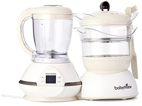 Babymoov Nutribaby Cream - Babynahrungszubereiter, Fassungsvermögen,...
