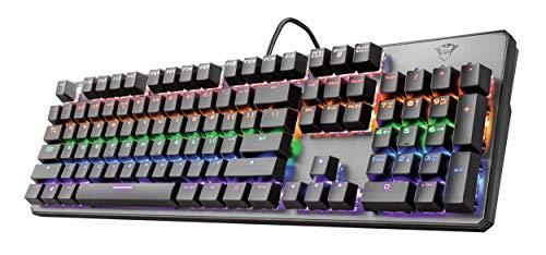 Trust GXT 865 Asta Mechanische Tastatur (QWERTZ,...